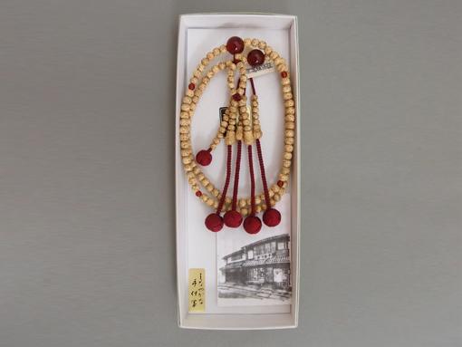 お数珠(日蓮宗檀信徒向・星月菩提樹仕立 めのう)