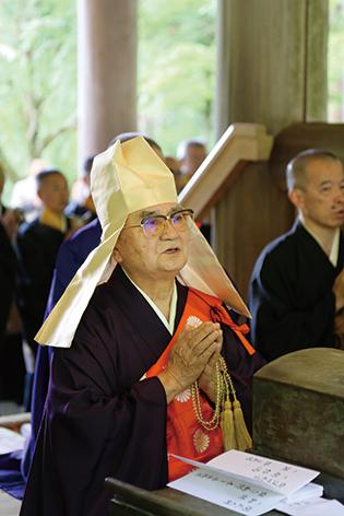 菅野管長祖廟奉告式