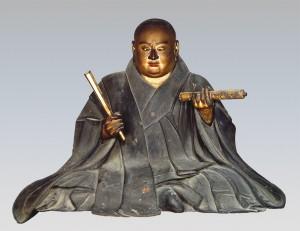 日蓮聖人坐像②